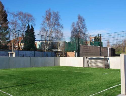 Fußballfeld Mechelen
